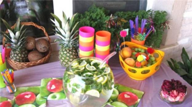 Как сделать украшение на гавайскую вечеринку своими руками