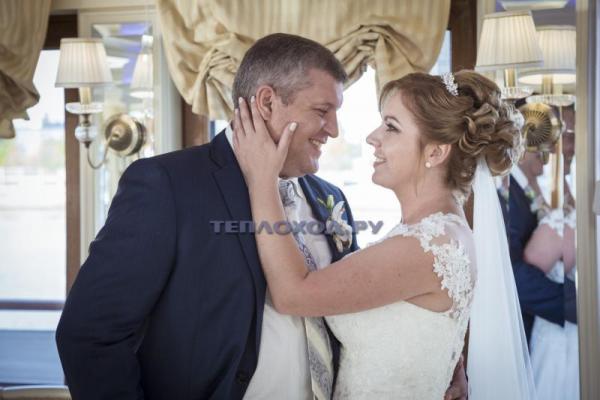 Свадьба на теплоходе в Москве